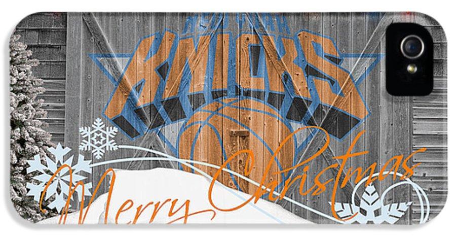 Knicks IPhone 5 Case featuring the photograph New York Knicks by Joe Hamilton