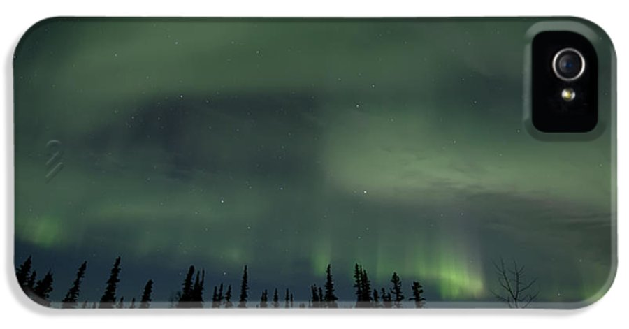 Skies IPhone 5 Case featuring the photograph Night Lights by Priska Wettstein