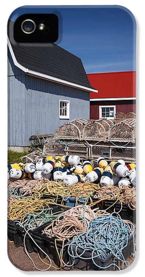 Floats IPhone 5 Case featuring the photograph North Rustico by Elena Elisseeva