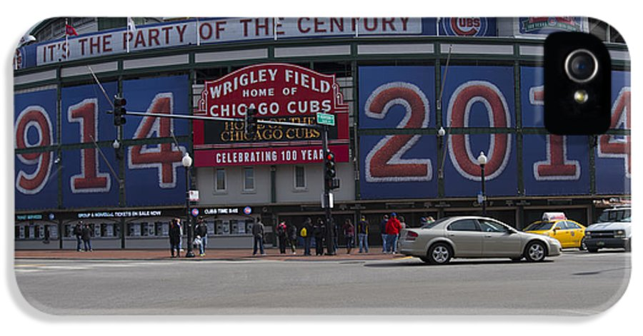 Wrigley IPhone 5 Case featuring the photograph Nothing A Hundred More Won't Cure... by David Bearden