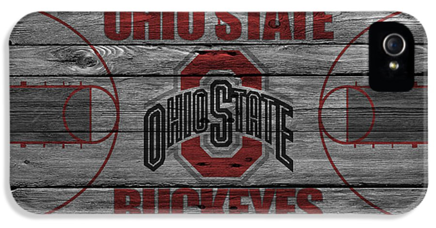 Buckeyes IPhone 5 Case featuring the photograph Ohio State Buckeyes by Joe Hamilton