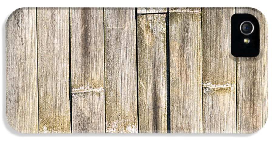 Bamboo IPhone 5 Case featuring the photograph Old Bamboo Fence by Alexander Senin
