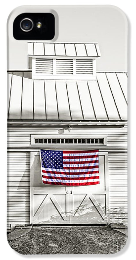 Vermont IPhone 5 Case featuring the photograph Old Glory Circa 1776 by Edward Fielding