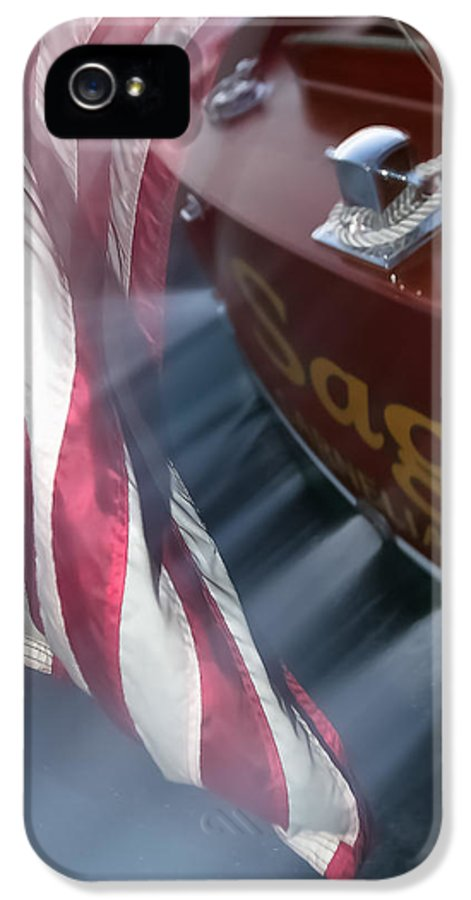 Old IPhone 5 Case featuring the photograph Old Glory by Steven Lapkin