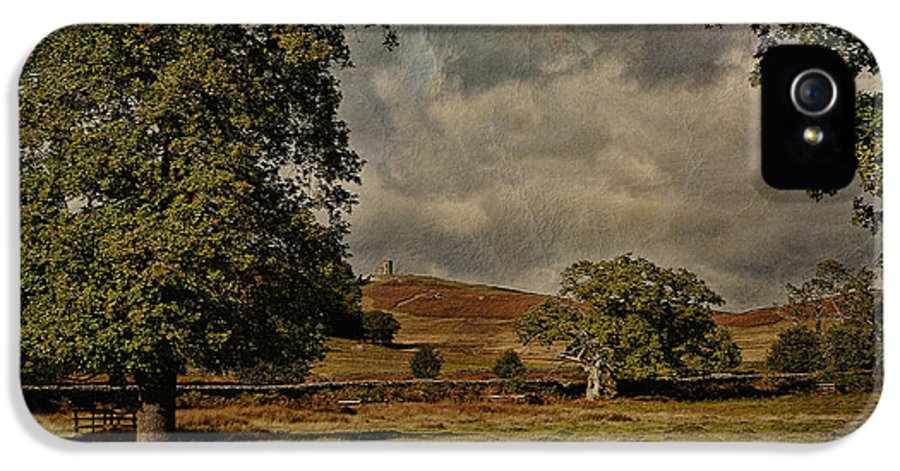 Old John Bradgate Park IPhone 5 Case featuring the photograph Old John Bradgate Park Leicestershire by John Edwards