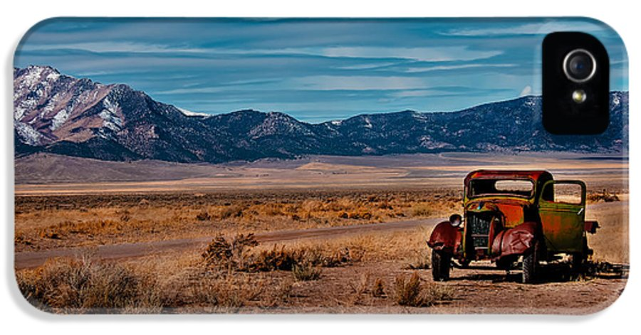 Transportation IPhone 5 Case featuring the photograph Old Pickup by Robert Bales