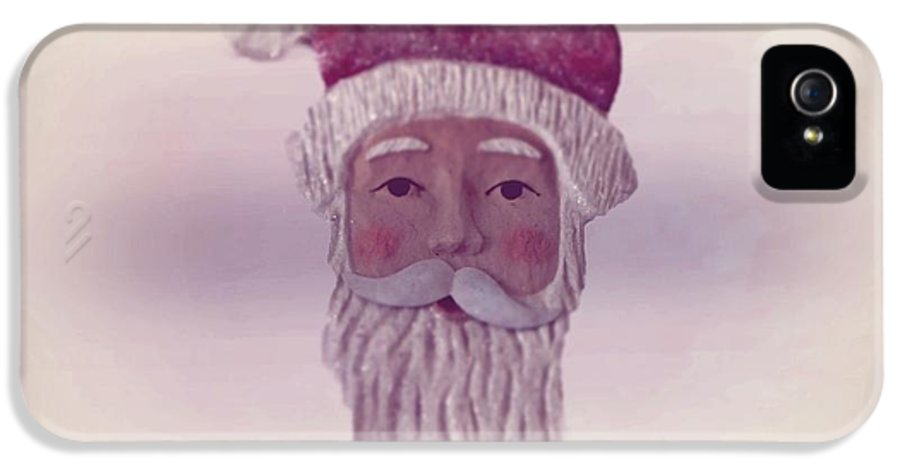 Santa Claus IPhone 5 Case featuring the photograph Old Saint Nicholas Greeting Card by David Dehner
