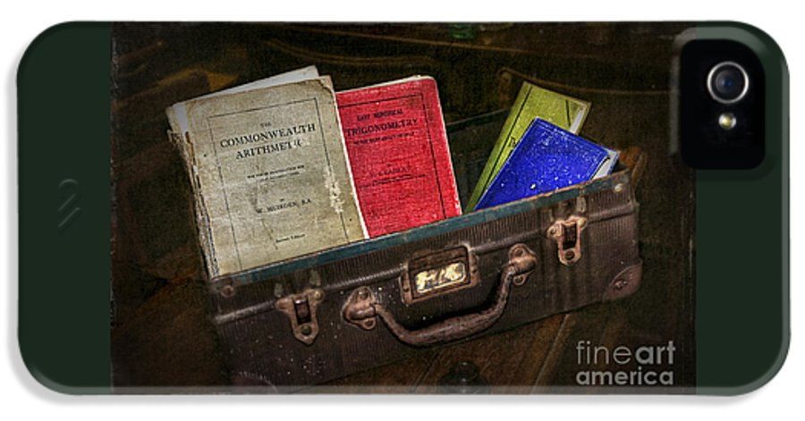 Photography IPhone 5 Case featuring the photograph Old School Days by Kaye Menner