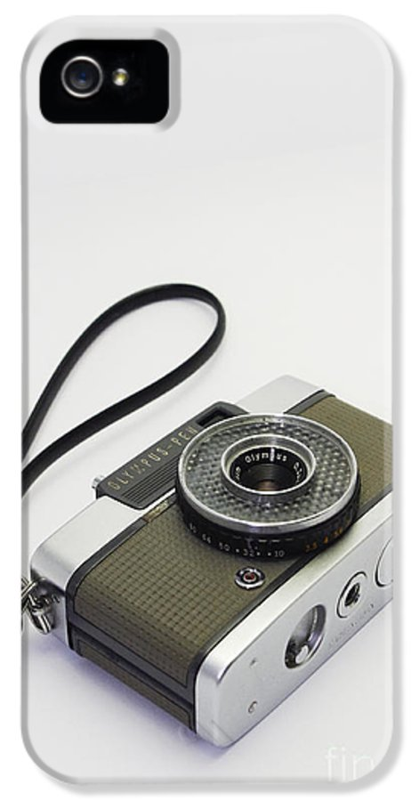 Olympus IPhone 5 / 5s Case featuring the photograph Olympus Pen-film Camera by Tuimages