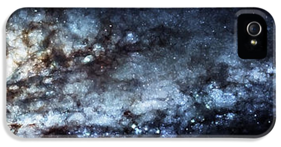 Universe IPhone 5 Case featuring the photograph On The Galaxy Edge by Jennifer Rondinelli Reilly - Fine Art Photography