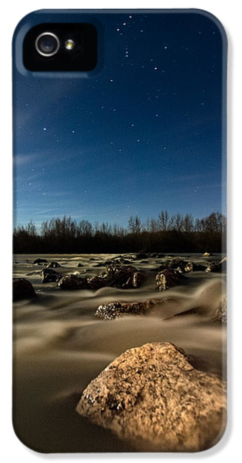 Landscape IPhone 5 Case featuring the photograph Orion by Davorin Mance