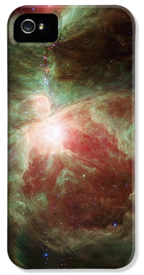 3scape Photos IPhone 5 Case featuring the photograph Orion's Sword by Adam Romanowicz