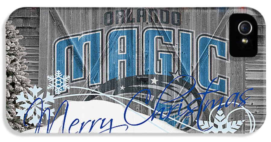 Magic IPhone 5 / 5s Case featuring the photograph Orlando Magic by Joe Hamilton