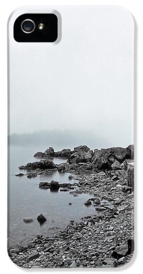 Cliffs IPhone 5 Case featuring the photograph Otter Cliffs by Joann Vitali