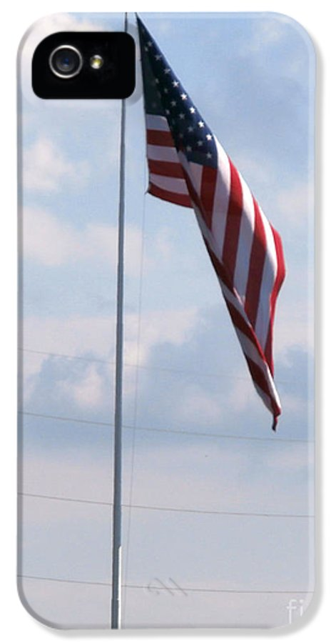 Patriotic Flags IPhone 5 Case featuring the photograph Our Flag by Joseph Baril