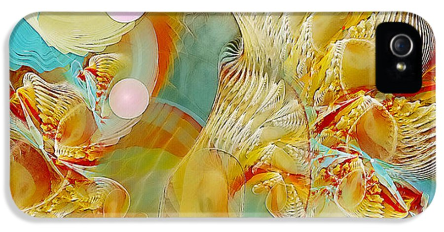 Fractal IPhone 5 Case featuring the digital art Our Souls Expand by Gayle Odsather