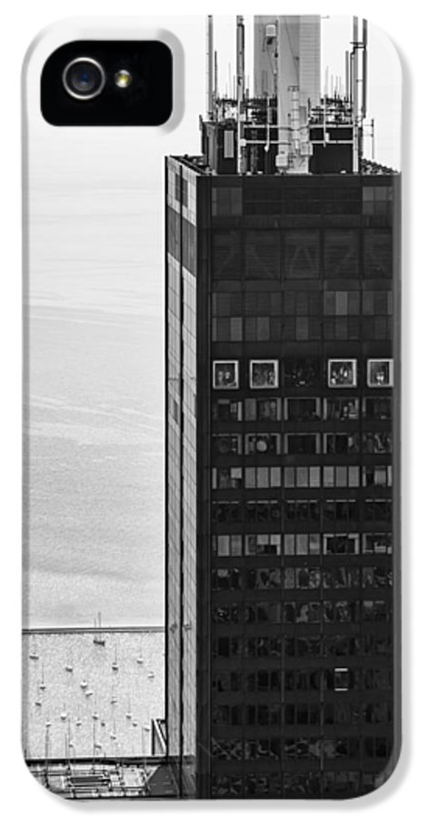 3scape IPhone 5 Case featuring the photograph Outside Looking In - Willis Tower Chicago by Adam Romanowicz