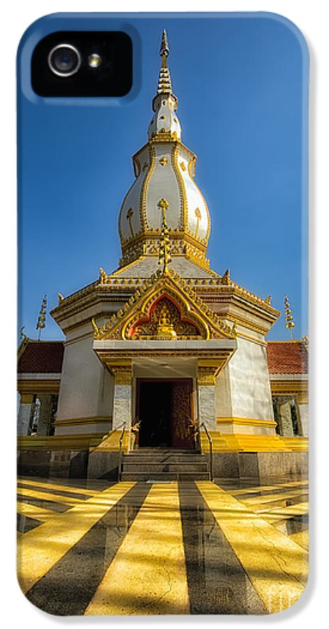 Architecture IPhone 5 Case featuring the photograph Pa Dong Wai Temple by Adrian Evans