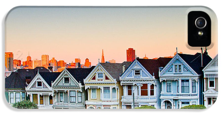 San Francisco IPhone 5 Case featuring the photograph Painted Ladies by Bill Gallagher