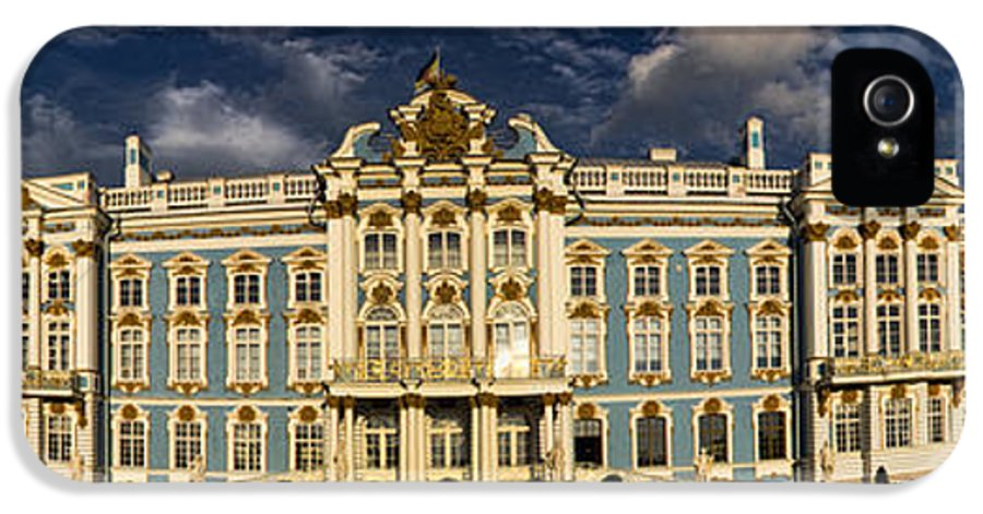 Built Structure IPhone 5 Case featuring the photograph Panorama Of Catherine Palace by David Smith