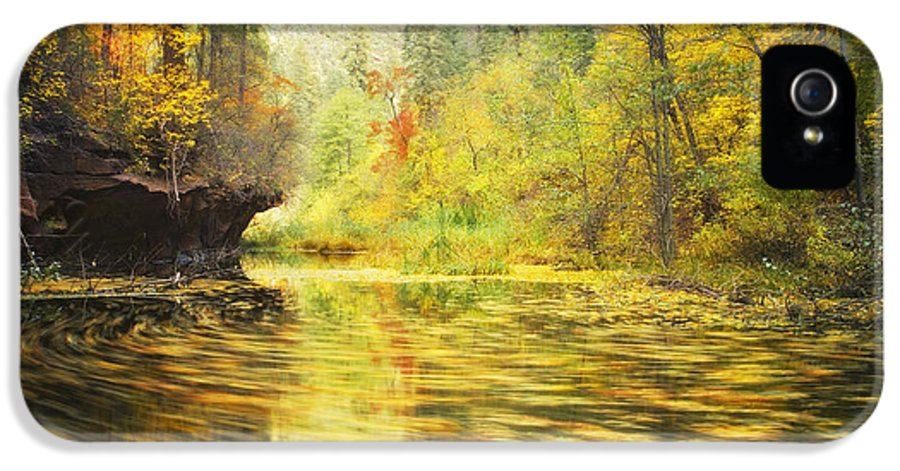 Autumn IPhone 5 Case featuring the photograph Parade Of Autumn by Peter Coskun