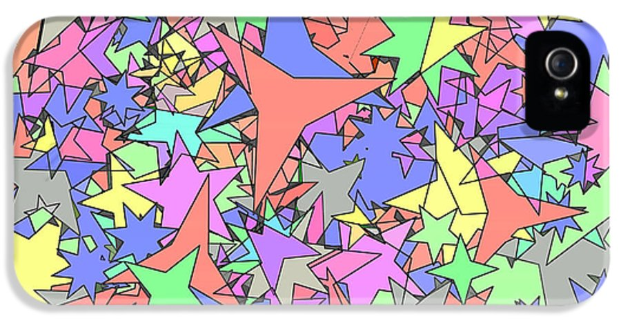Star IPhone 5 Case featuring the photograph Pastel Stars by Gregory Scott