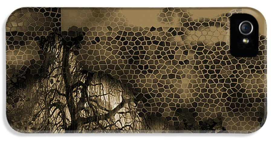 IPhone 5 Case featuring the mixed media Path by Yanni Theodorou