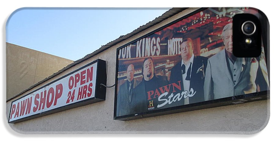 Pawn Stars IPhone 5 Case featuring the photograph Pawn Stars by Kay Novy