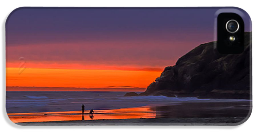 Sunset IPhone 5 Case featuring the photograph Peaceful Evening by Robert Bales