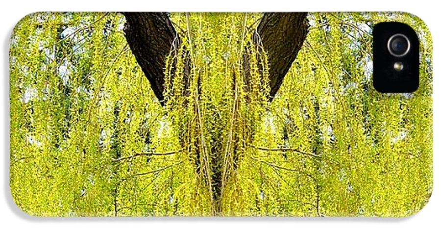 Photo Synthesis 5 IPhone 5 Case featuring the digital art Photo Synthesis 5 by Will Borden