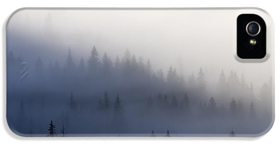 Clouds IPhone 5 Case featuring the photograph Piercing The Veil by Mike Dawson