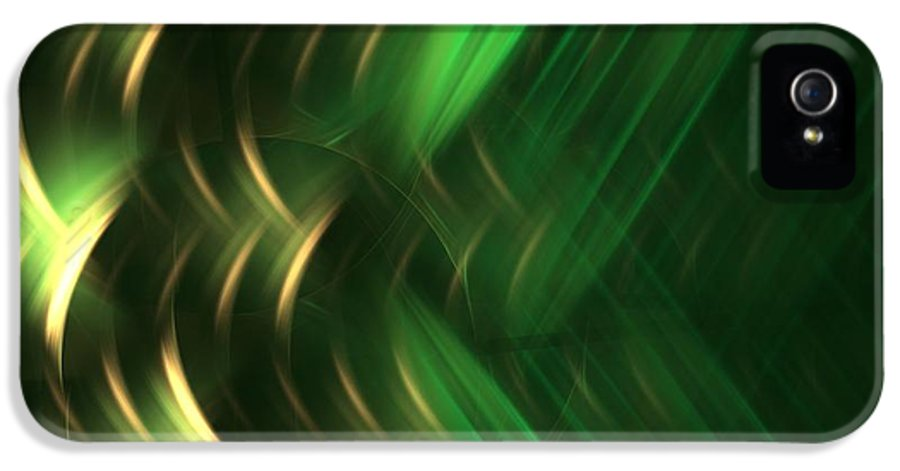 Apophysis IPhone 5 Case featuring the digital art Pine by Kim Sy Ok