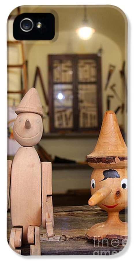 Pinocchio IPhone 5 Case featuring the photograph Pinocchio by April Antonia