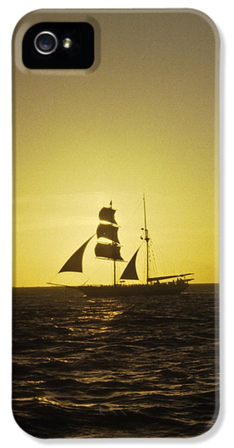 Pirates IPhone 5 Case featuring the photograph Pirates At Sea - Caribbean by Douglas Barnett