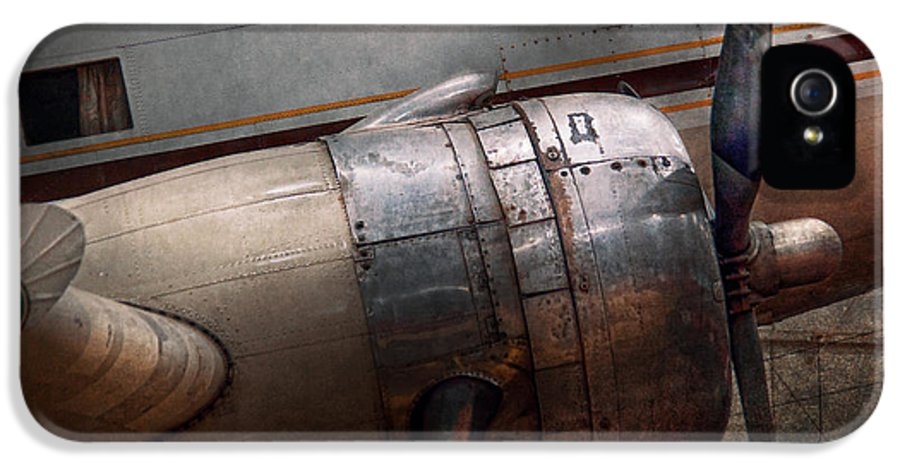 Plane IPhone 5 Case featuring the photograph Plane - A Little Rough Around The Edges by Mike Savad
