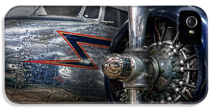 Plane IPhone 5 Case featuring the photograph Plane - Hey Fly Boy by Mike Savad