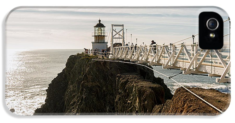 California IPhone 5 Case featuring the photograph Point Bonita Lighthouse by Georgia Fowler