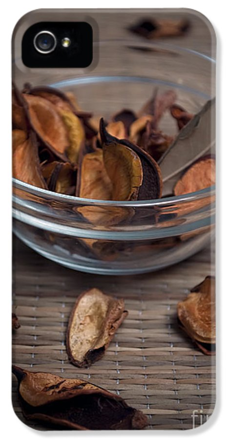 Spa IPhone 5 Case featuring the pyrography Potpourri by Jelena Jovanovic