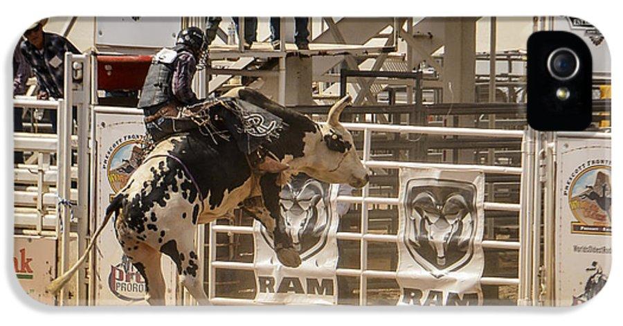Rodeo IPhone 5 Case featuring the photograph Prescott Az Rodeo by Jon Berghoff