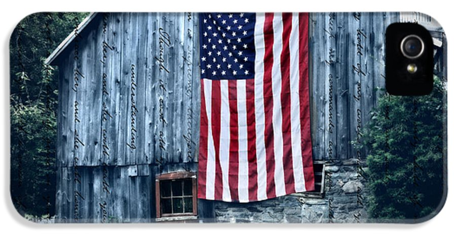 Barn IPhone 5 Case featuring the photograph Pride by Thomas Schoeller