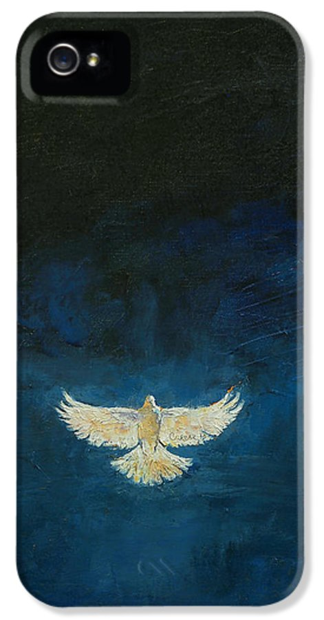 Christian IPhone 5 Case featuring the painting Promised Land by Michael Creese