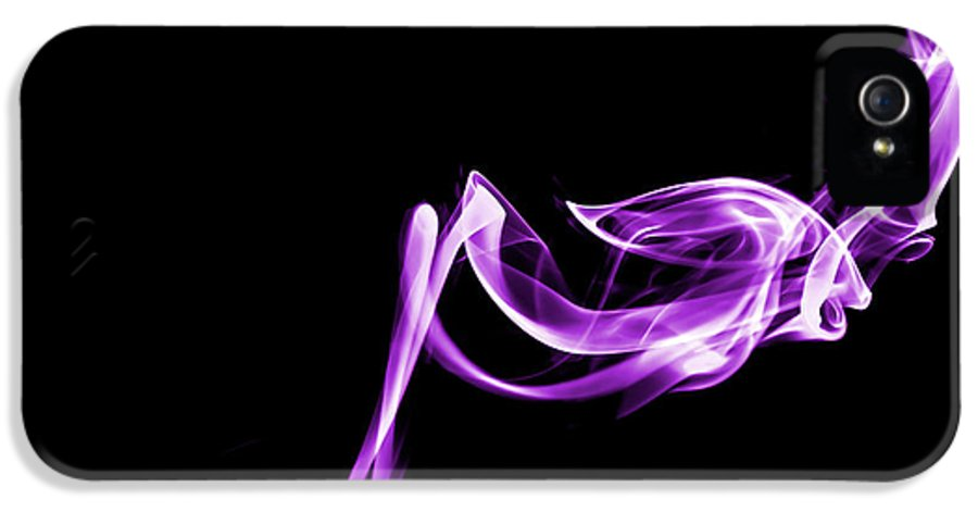 Christinesmart IPhone 5 Case featuring the photograph Purple Flash by Christine Smart