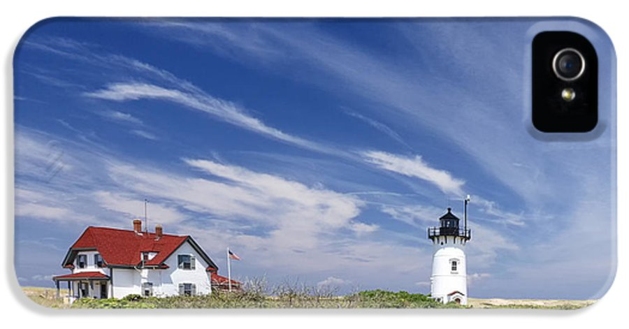 Race Point Light IPhone 5 Case featuring the photograph Race Point Light by Bill Wakeley