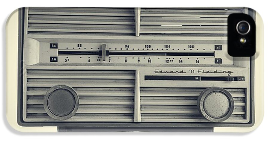 Isolated IPhone 5 Case featuring the photograph Radio Days by Edward Fielding