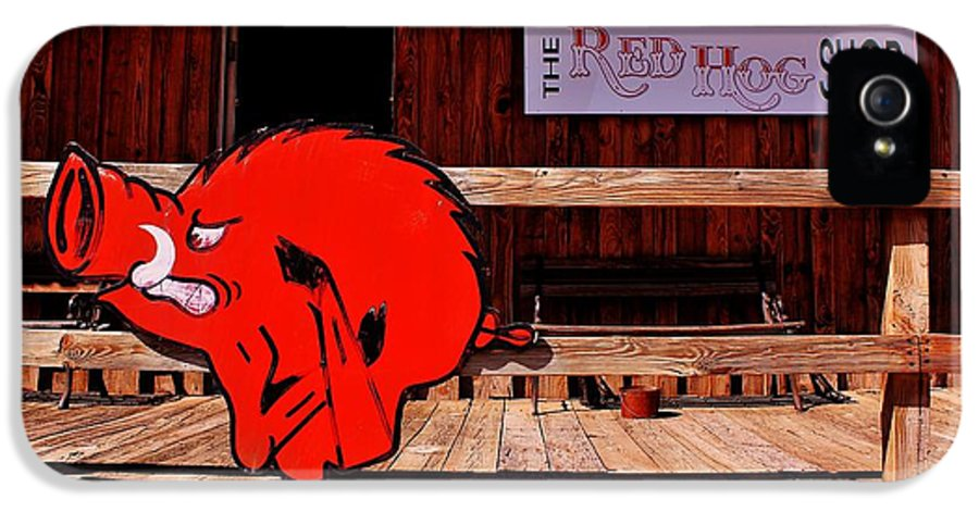 Arkansas IPhone 5 Case featuring the photograph Razorback Country by Benjamin Yeager