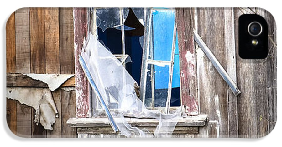 Abandoned IPhone 5 Case featuring the photograph Red And White And Blue by Caitlyn Grasso