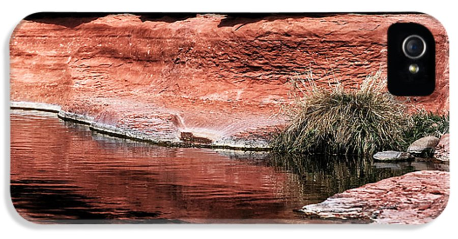 Red Creek IPhone 5 Case featuring the photograph Red Creek by John Rizzuto
