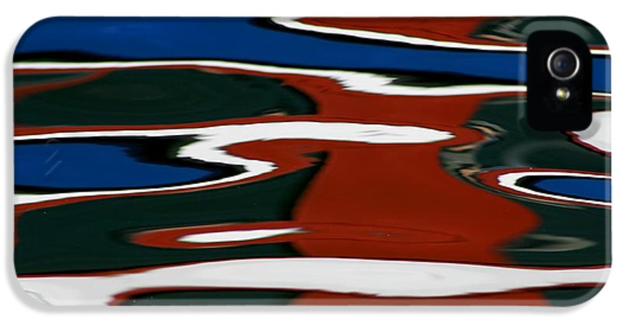 Reflections IPhone 5 Case featuring the photograph Red White And Blue I by Heidi Piccerelli