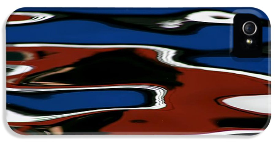 Reflections IPhone 5 Case featuring the photograph Red White And Blue IIi by Heidi Piccerelli