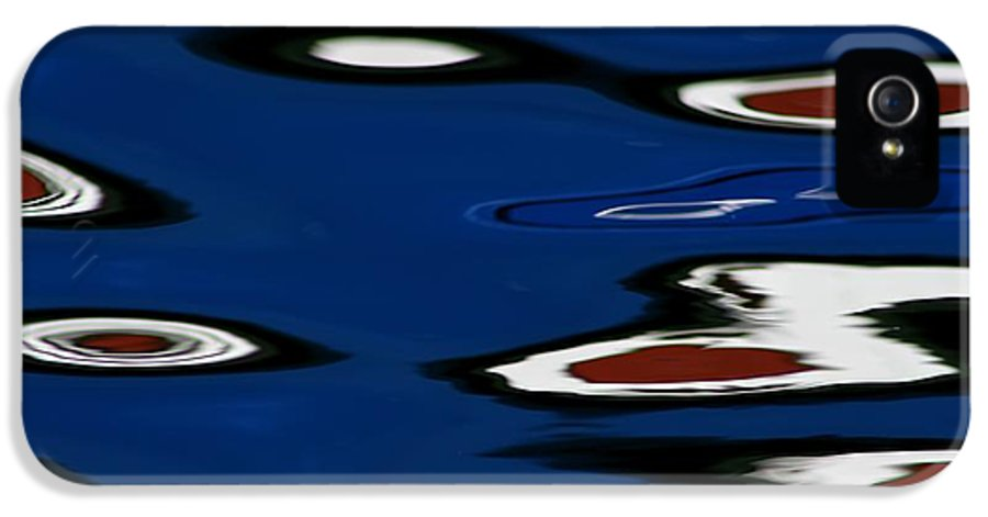 Reflections IPhone 5 Case featuring the photograph Red White And Blue V by Heidi Piccerelli